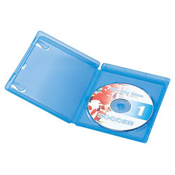 Blu-Ray Disk Case