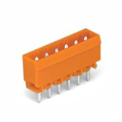 Male Header for Spring Type Connector with Solder Pin, 231 Series, 5.08 mm Pitch Straight Type
