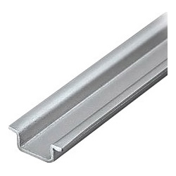 Aluminum carrier rail