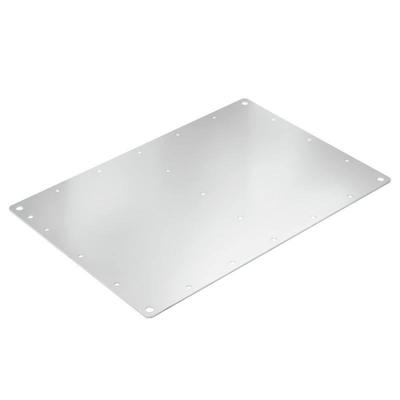 Mounting Plate (Housing), Stainless Steel 1.4301 (304), Silver
