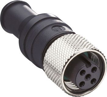 Sensor/Actuator Data Cable M12 Socket, Straight