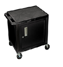 Lockable cabinet for Plastic Utility Carts