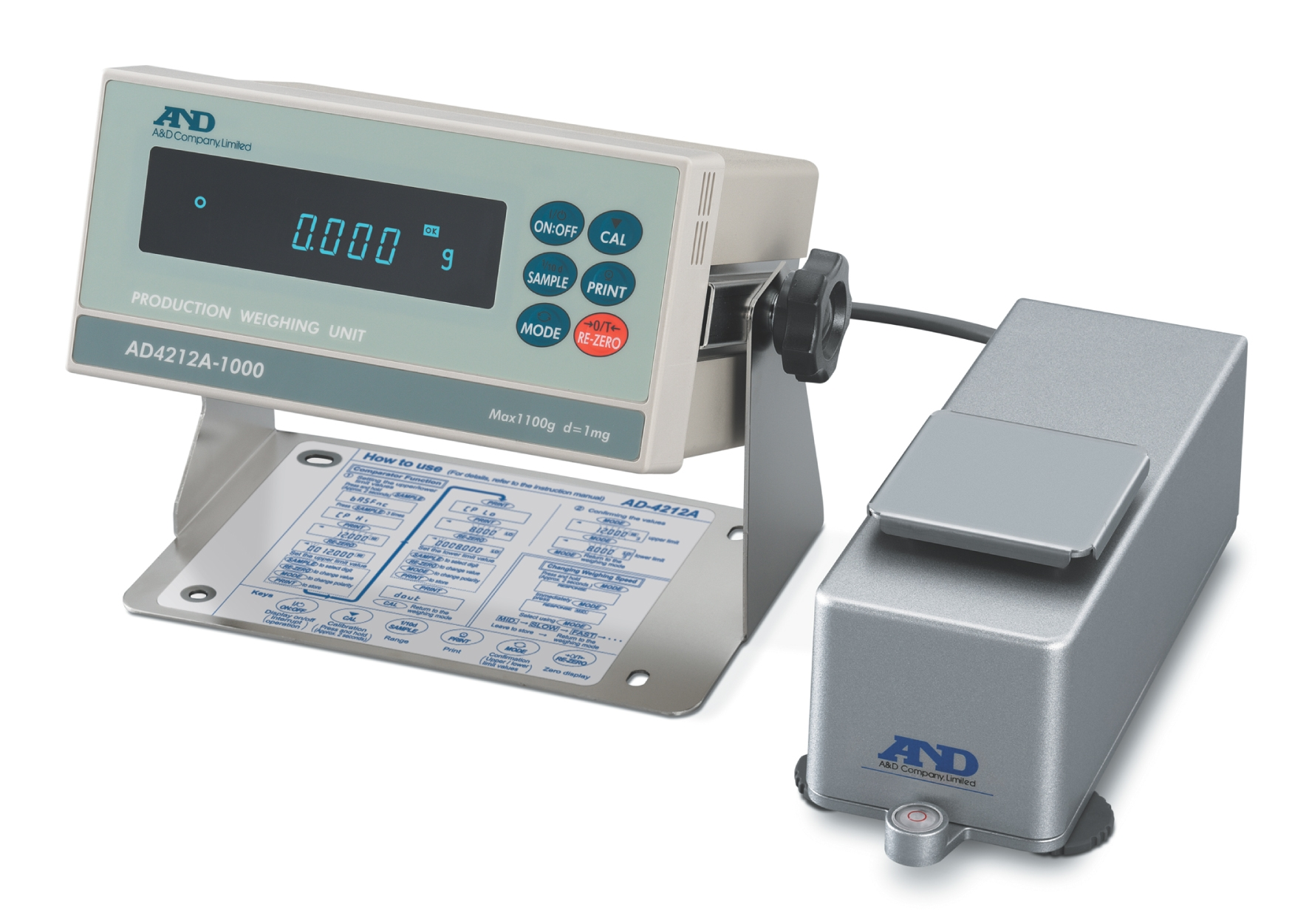 AD-4212A Production Weighing System