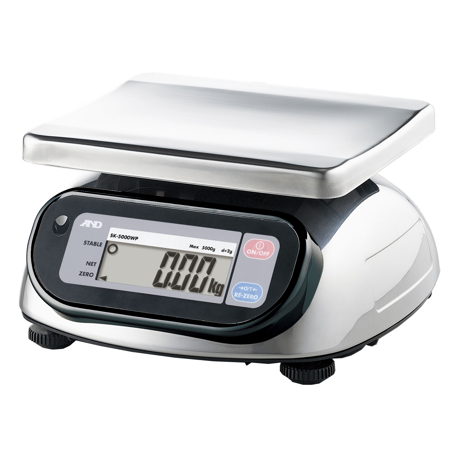 SK-WP Series Stainless Steel Bench Scales IP65 Waterproof