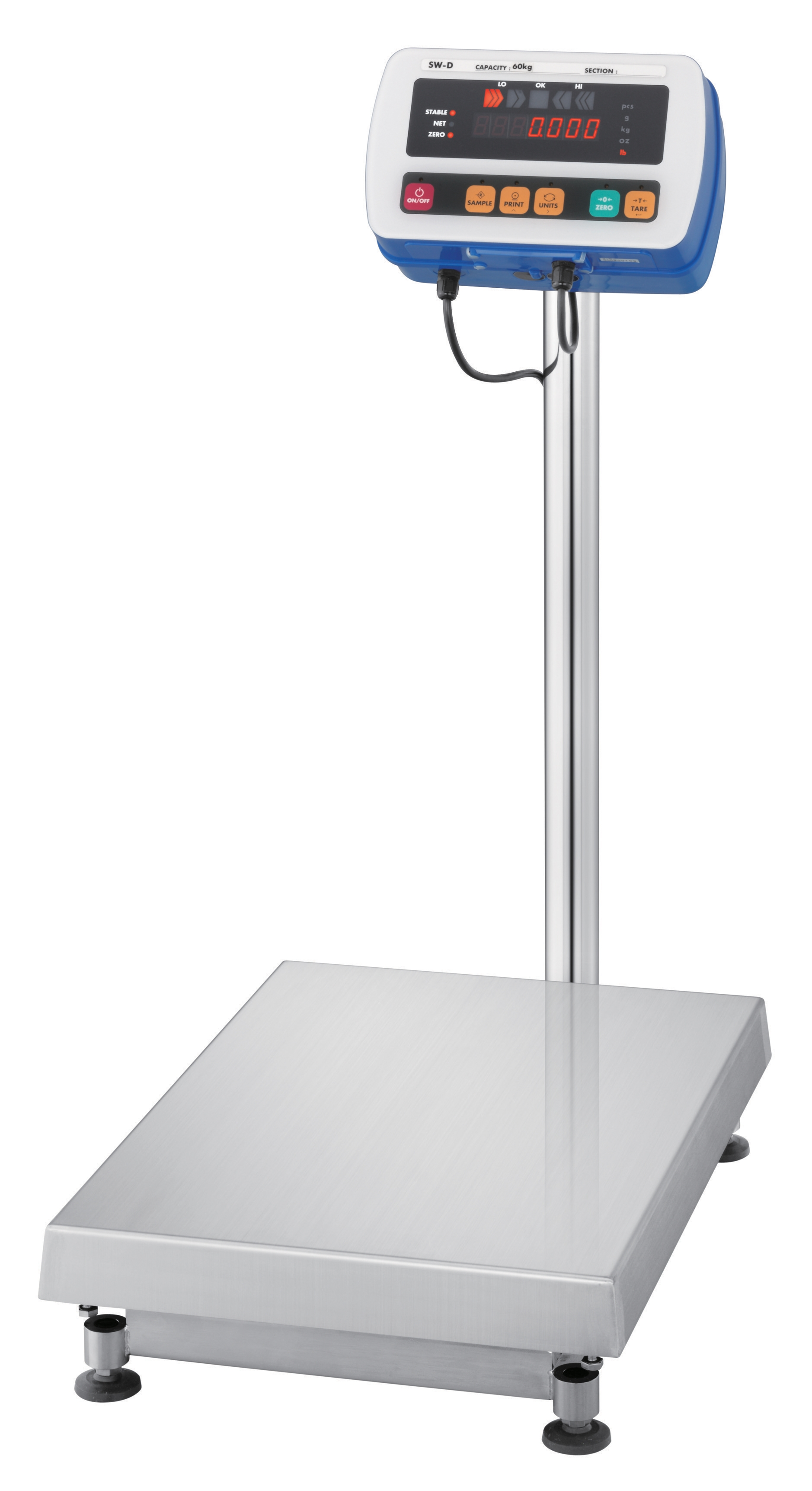 SW Series Super Washdown Platform Scales IP69K Waterproof