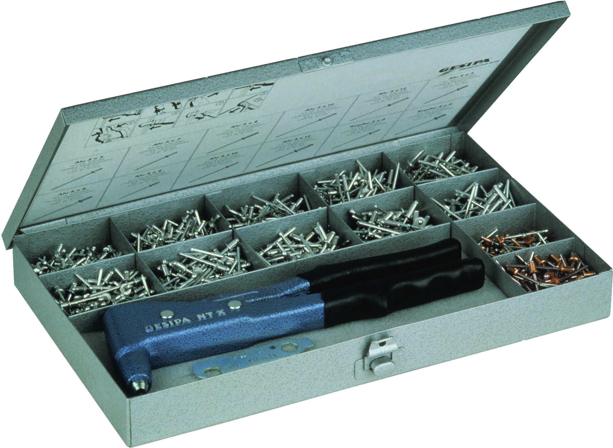 R-RT hand riveters riveting nut kits