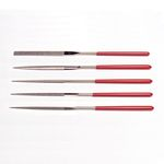 Precision Diamond File Set of 5