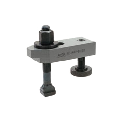 6314AV Stepped clamp with adjusting support screw