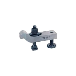 6316V Cranked clamp with adjusting support screw
