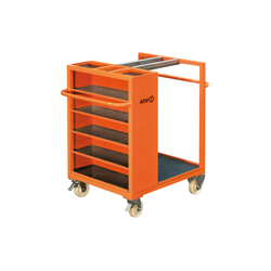 6470 Trolley for clamping equipment