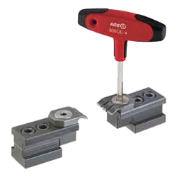 6493N Flat clamp for slotted table, horizontal