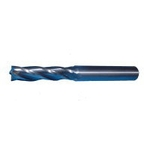 SAC 2 Solid Long 2-Flute A-Cut End Mill MA