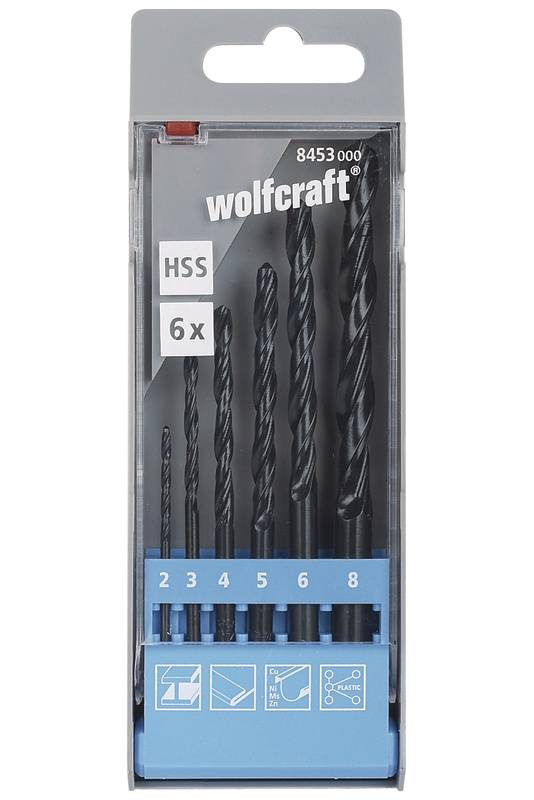 HSS Metal twist drill bit set