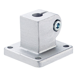 Base plate connector clamps, Aluminium