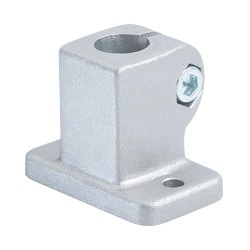 Base plate connector clamps, Aluminum