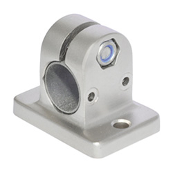 Flanged linear actuator connectors, Stainless Steel