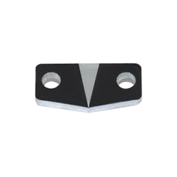 Indicator arrow for rulers, Aluminum