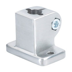 Stainless Steel-Base plate connector clamps