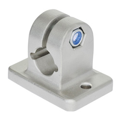 Stainless Steel-Flanged connector clamps