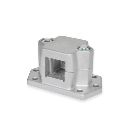 Flanged connector clamps, Aluminum (GN 147.3)