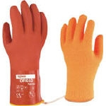 "Back Fabric Glove ""With Soft Vinystar Cold Protection Inner"""