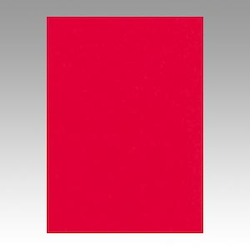 Color Drawing Paper, New Color, One-Quarter Red