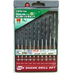 Hex Axis Woodworking Drill Bit Set (10 Pieces Set)