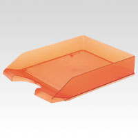 Letter Tray A4 Vertical Orange