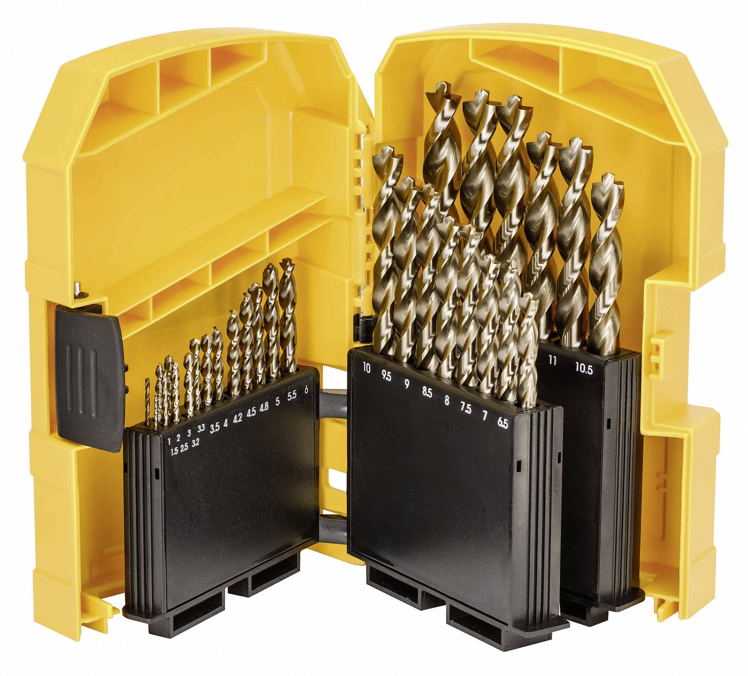 Metal twist drill bit set