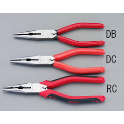 Long nose Pliers [with Crimping] EA537DB-175