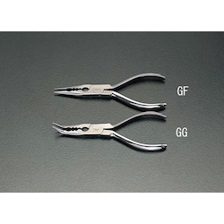 [Stainless Steel] Long nose Pliers with Hole EA537GF-160