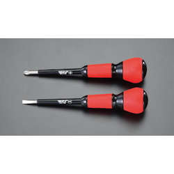 (+)(-) Power Grip Insulated Screwdriver Set EA557AD