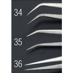 [Stainless Steel] Precision Tweezers EA595AK-36