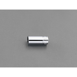 "3/8""sq x 22mm Semi Deep Socket(12P) EA618PP-22"