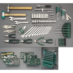 [89 Pcs] Tool Set With Wagon EA689SV