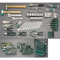 [83 Pcs] Tool Set With Wagon EA689SW