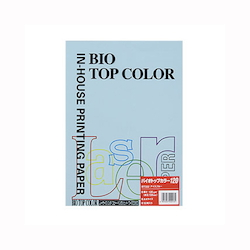 BIO Top Color Paper A4 50 Sheets 120 g/m² Ice Blue