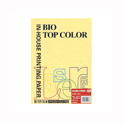 BIO Top Color Paper A4 50 Sheets 120 g/m² Yellow