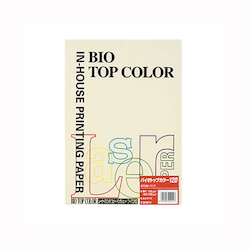 BIO Top Color Paper A4 50 Sheets 120 g/m² Vanilla