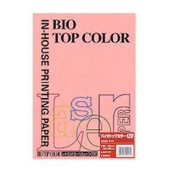 BIO Top Color Paper A4 50 Sheets 120 g/m² Pink
