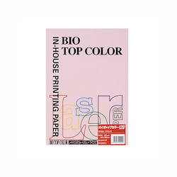 BIO Top Color Paper A4 50 Sheets 120 g/m² Flamingo