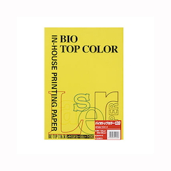 BIO Top Color Paper A4 50 Sheets 120 g/m² Mustard