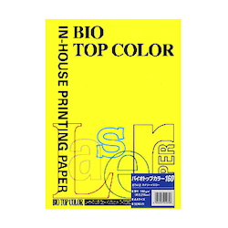 BIO Top Color Paper A4 50 Sheets 160 g/m² Canary Yellow