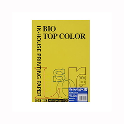 BIO Top Color Paper A4 50 Sheets 160 g/m² Mustard