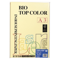 BIO Top Color Paper PPC A3 Yellow