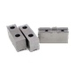 Soft Jaws (STJ) 3 Pieces / 1 Set Soft Jaws For Split Jaws (TC/TA/FCT/A Type) (For 3-Jaw Chucks)