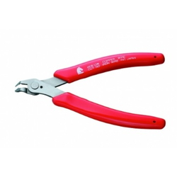 Keiba Mini Nippers (Narrow Bent Type, Stainless Steel)