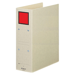 Storage File A4S Red Standard: A4 Size Portrait, Back Width: 94 mm Bind Thickness: 80 mm Appropriate Capacity: 800 Sheets