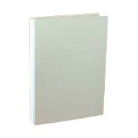 A-NER File B5 Size Vertical (Back Width 10 to 110 mm), 2 Holes, White