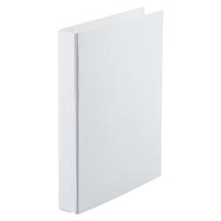 A-NER File B5 Size Vertical (Cheap Edition)(Back Width 10 to 110 mm), 2 Holes, White
